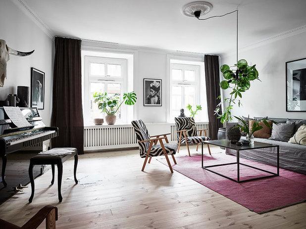 22 case che hanno trovato il giusto posto per il pianoforte