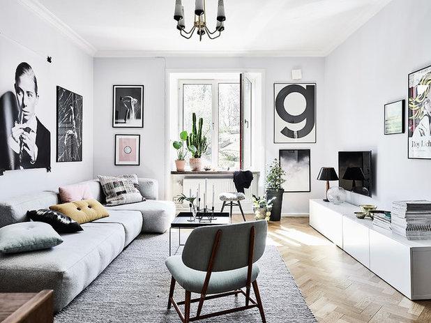 Scandinave Salon by Entrance Fastighetsmäkleri
