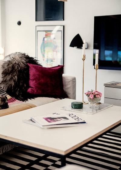 Modern Vardagsrum by Pamela Hanné