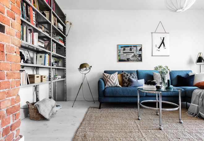 Scandinavian Living Room by Hortlund & Co