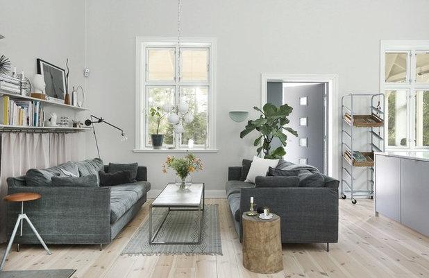 Skandinavisk Dagligstue by Fastighetsbyrån