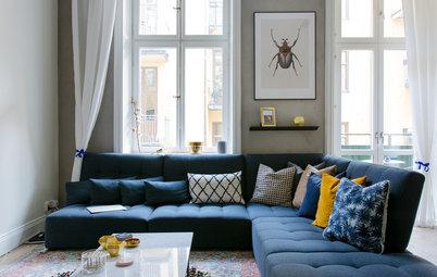 Houzz Tour: En lägenhet att älska – besök bloggaren Michaela Fornis hem