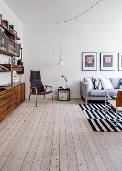 Modern Vardagsrum by REVENY