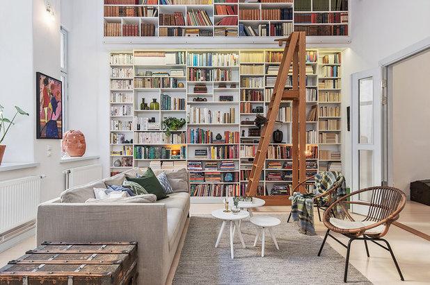 Nyklassisk Dagligstue by Carlia Design & Arkitektur AB