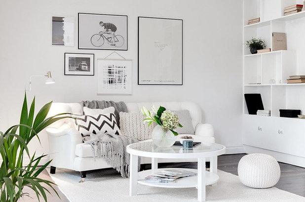 Scandinavian Living Room by Wida Design
