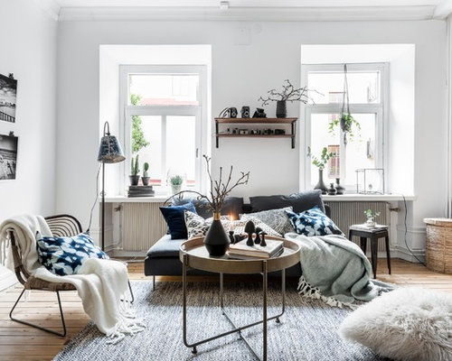 Scandinavian Living Room Design Ideas Remodels Photos Houzz
