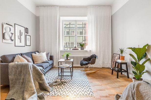 Skandinavisk Vardagsrum by Stylingbolaget