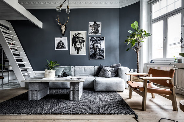 shades of grey 9 tipps f r dunkle w nde im wohnzimmer. Black Bedroom Furniture Sets. Home Design Ideas