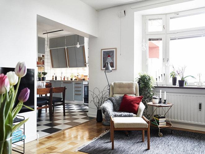 Skandinavisk Vardagsrum by Himlekök