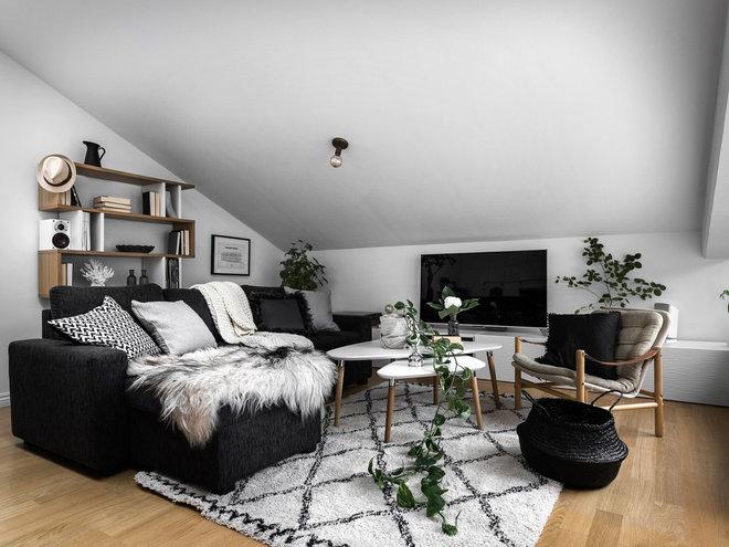 Skandinavisk Vardagsrum by Deco STHLM