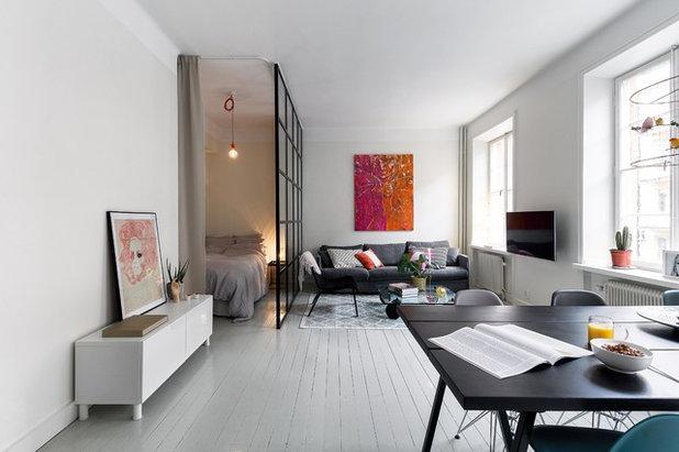 Skandinavisch Wohnbereich by Bouger Stockholm