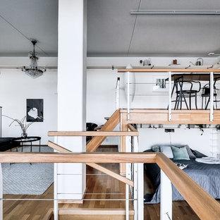 Kleines Nordisches Wohnzimmer in Stockholm