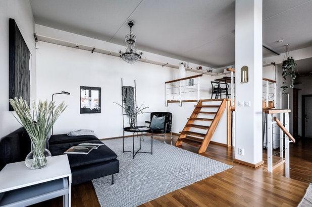 Scandinavian Living Room by dream design sthlm
