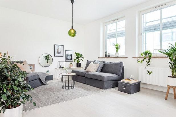 Scandinavian Living Room by Studio In