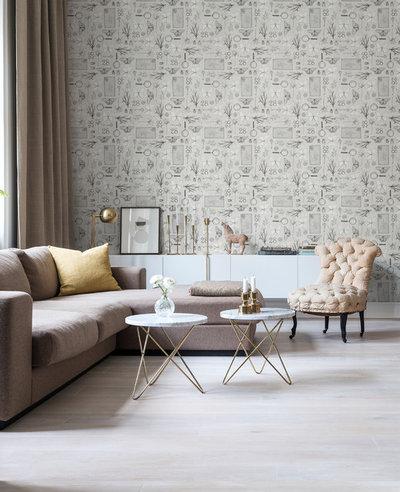 Modern Vardagsrum by Decor Maison AB