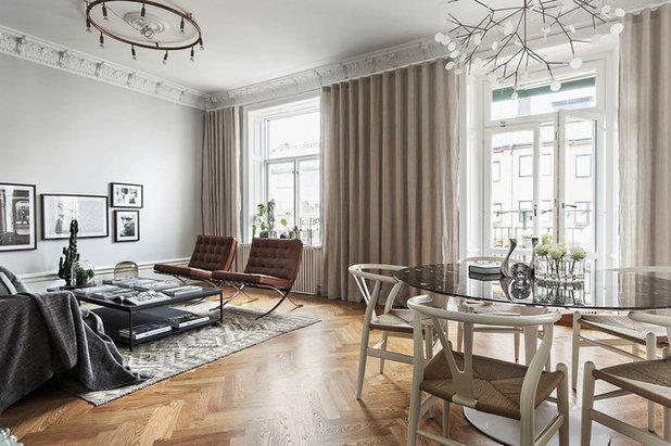 Skandinavisk Vardagsrum by Roomly.se
