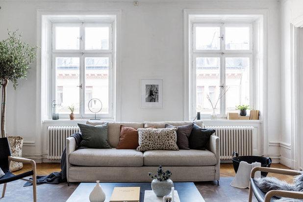 Sekelskiftes Vardagsrum by BALTHAZ INTERIOR