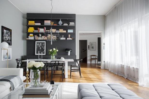 13 ideen wie sie ein kleines wohnzimmer mit essbereich einrichten. Black Bedroom Furniture Sets. Home Design Ideas
