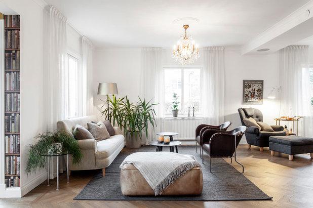 Klassisk Vardagsrum by A3 Byggprojekt AB
