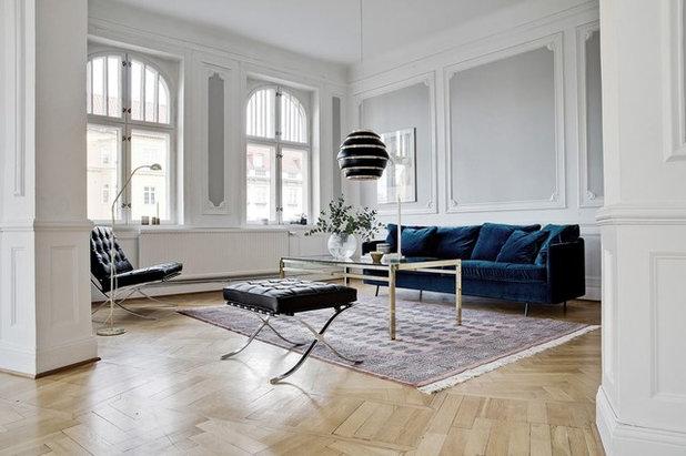 Skandinavisch Wohnbereich by Bjurfors Home