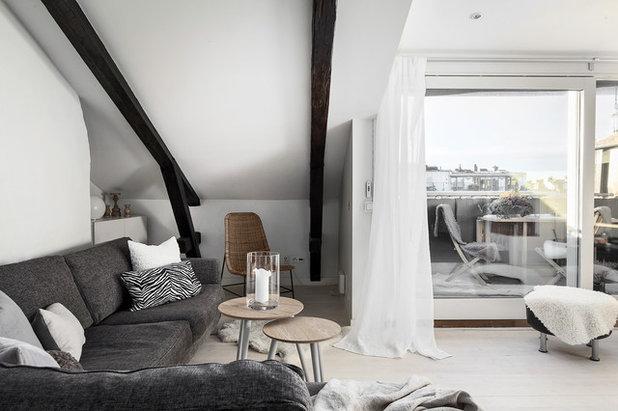 Scandinavian Living Room by Stilrummet