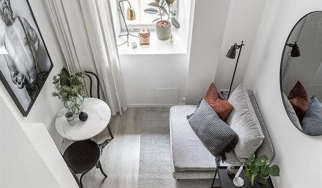Houzzbesuch: Schnapslager wird zur kleinsten Wohnung Schwedens
