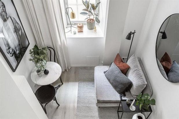 Skandinavisch Wohnbereich by Hortlund & Co