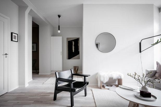 Skandinavisk Vardagsrum by Alvhem Mäkleri & Interiör