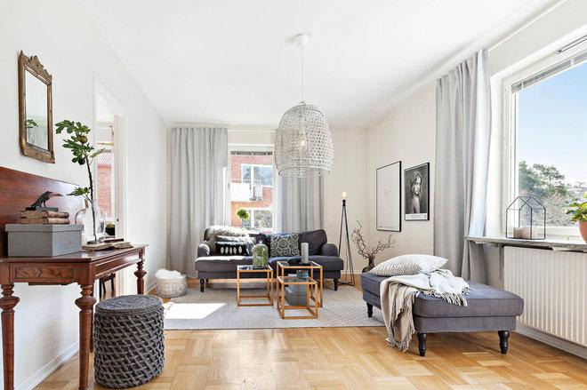 Scandinavian Living Room by Inne