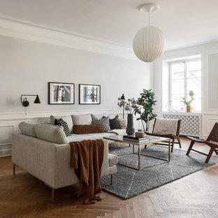 Idéer för att renovera ett minimalistiskt vardagsrum