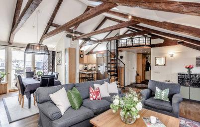 Spær øjnene op! 11 hjem med rustikke bjælker under loftet