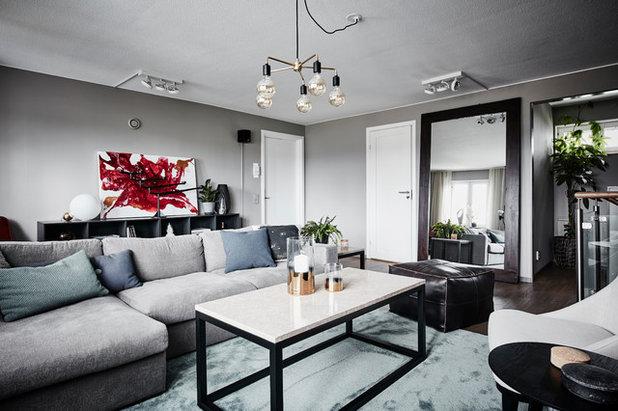 Contemporary Vardagsrum by A3 Byggprojekt AB