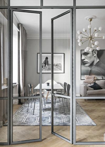 Modern Vardagsrum by Max Martin Construction