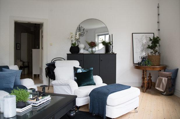 Nyklassisk Vardagsrum by www.adddesign.se