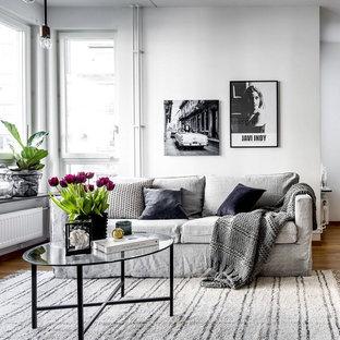 Idéer för mellanstora minimalistiska vardagsrum
