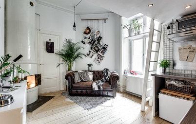 Gör ditt vardagsrum sofistikerat – utan att köpa dyrt