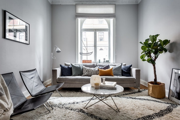 Sofa im Wohnzimmer richtig stellen - 7 Ideen