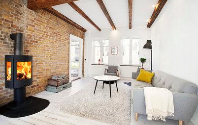 Gör det själv: Fixa en rå tegelvägg som i ett New York loft