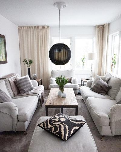 Skandinavisk Vardagsrum by Homestyling med Jasmin