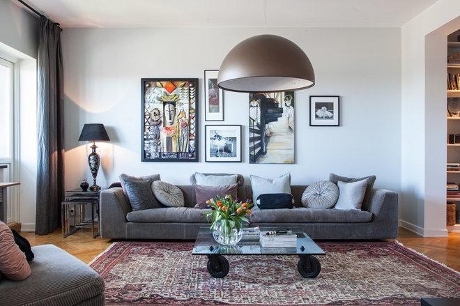 Klassisk Vardagsrum by HOUSE Helsingborg AB