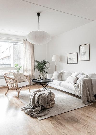 Scandinavian Living Room by Francos Corner AB