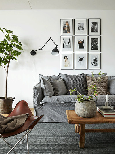 Modern Living Room by Loft Stockholm