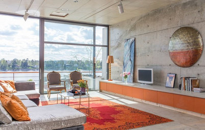 Houzz Tour: Colorful Style on the Sunny Side of Stockholm
