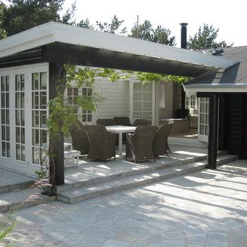 Tilbygning og totalrenovering af sommerhus