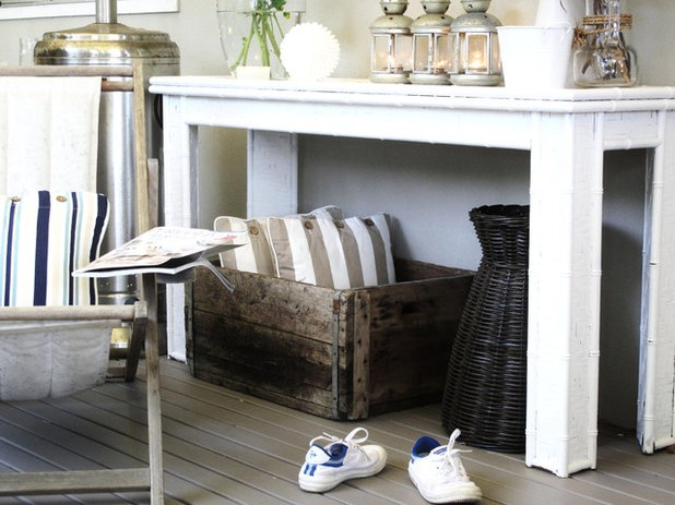 Shabby-chic Style Porch by A Beach Cottage