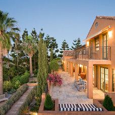 Mediterranean Porch by Kate Platt Designs