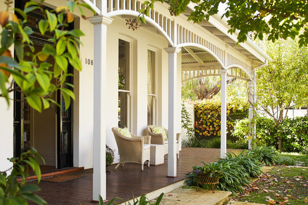 Victorian Verandah by Suzanne Hunt Architect