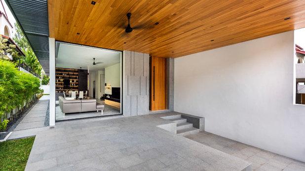 Contemporary Veranda by Ming Architects