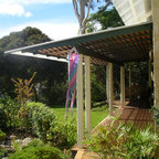 Urban Courtyards Traditional Porch Perth By