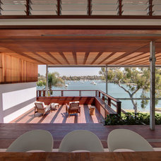 Contemporary Porch by CplusC Architectural Workshop